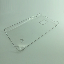 PC transparent shinny cheap mobile phone smart cover case for iphone
