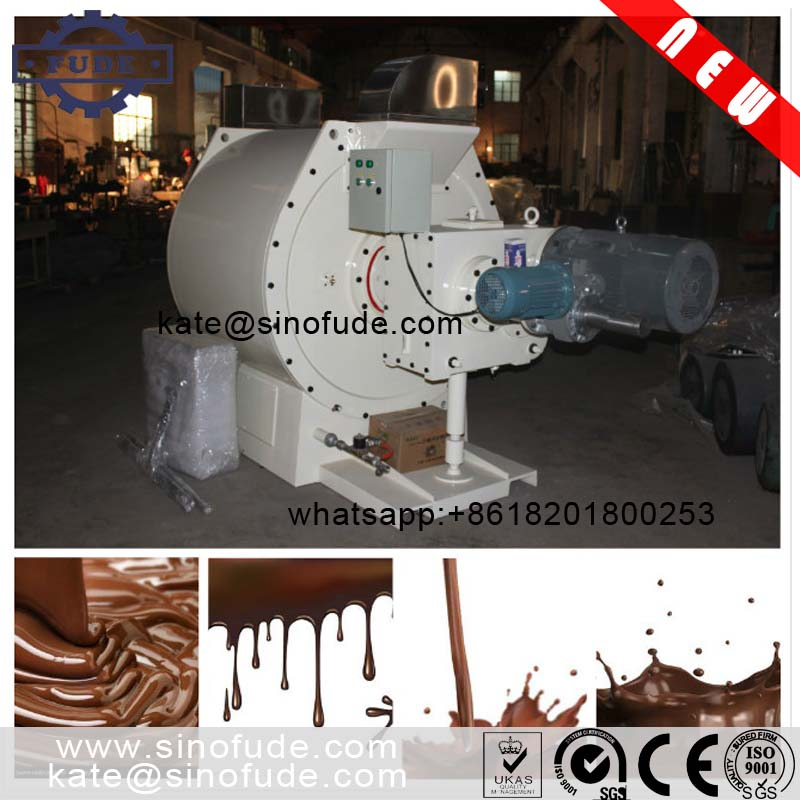 Shanghai high qulity automatic Chocolate Refiner machine /chocolate conche / chocolate bar production line