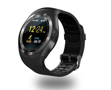 bluetooth smartwatch ips round screen smartwatch life for ios and android waterproof sports phone