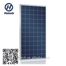 China cheap monocrystal 250W Solar PV Modlue balck aluminium alloy frame price