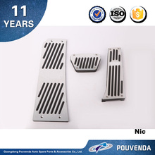 Aluminum Gas and brake Pedal for BMW X3 2011+ Accelerator pedal Auto accessories from Pouvenda