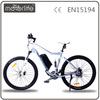 MOTORLIFE 250W 8FUN mid motor full suspension green power electric mountain bike