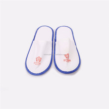 2017 Customize colored sublimation printing slippers for motel nylon slipper