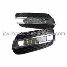A Pair(2pcs) drl led Daytime running light car fog lamp fitting for 2006-2009 <strong>Mercedes</strong> <strong>W164</strong> ML280 300 320 350 500 63