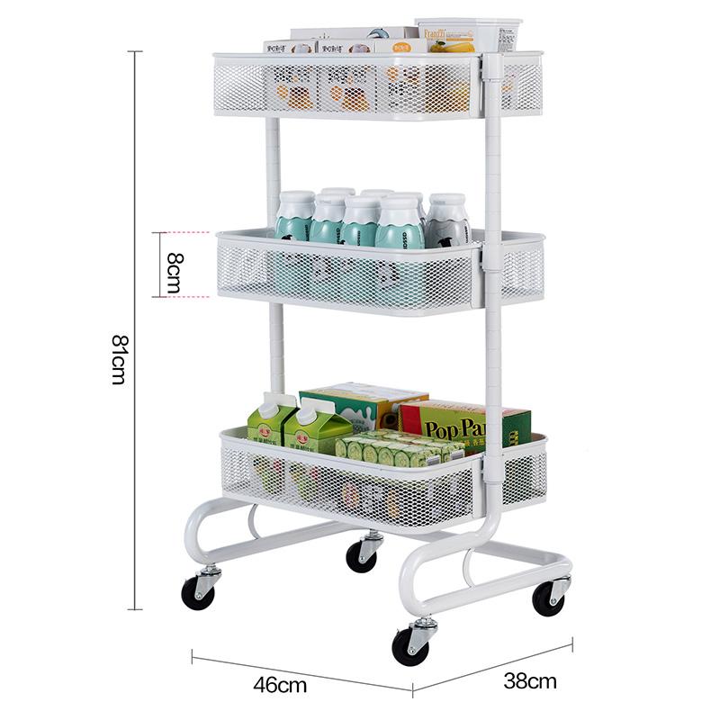 New Kitchen Storage Cart Sauce Bottle Display Trolley 3 Tier Kitchen  Vegetable Basket Trolley - Buy 3 Tier Kitchen Storage Trolley,Vegetable  Basket ...