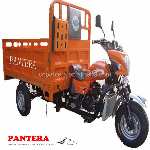 PT250ZH-9 Peru Market 250cc Water Cooled Engine Cargo Motocycle Three Wheels