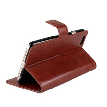 Crazy horse Leather Wallet Case for iphone 6 plus Flip Cover with Stand Function