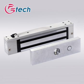 magnetic release locks Suitable For Single Door Hanging Type 280KG Force Holding Magnetic lock