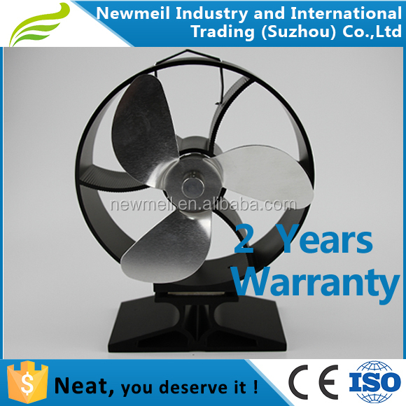 Newmeil Neat834 high efficiency eco heat powered stove fan for woodburners stove