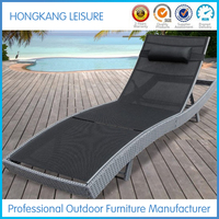 L002 Rattan Outdoor Sun Lounger Swimming Pool Chair
