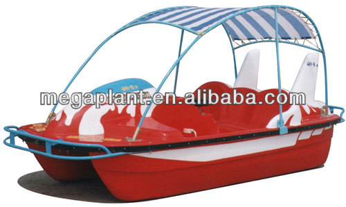 FRP CE water pedal plastic boat for sale price