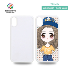 High Quality Sublimation Product, Sublimation Mobile Phone Case For iphone X, TPU Phone Case For iphone X
