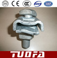 brida suspencion 1 perno, galvanized clamp for pole line hardware