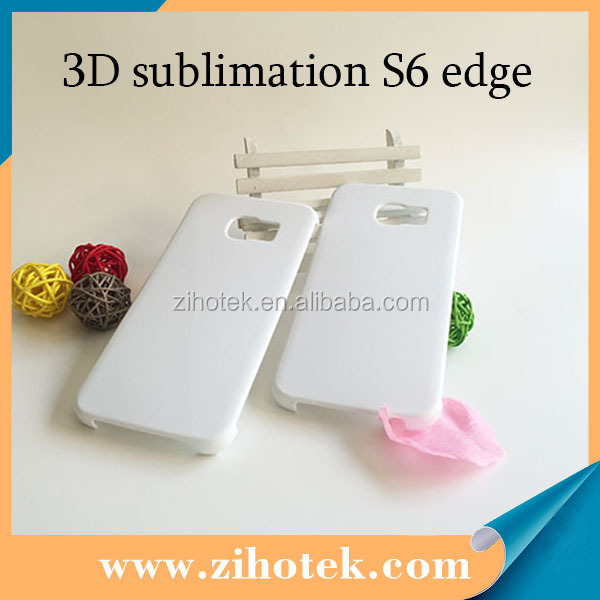 2015 new Cheap 3d sublimation mobile phone case for samsung S6 Edge