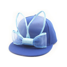 Cartoon rabbit ears baby hat cotton snapback baseball cap lovely hat