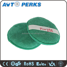 Colorful Turtle Logo Printed Car Microfibre Polishing Pad