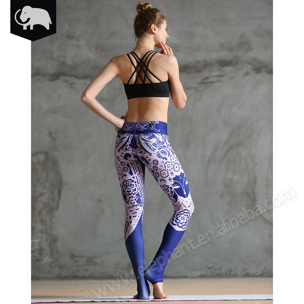 Hot sexy women's fitness leggings skinny pants high quality sexy yoga leggings