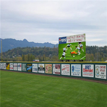stadium perimeter led display P12 outdoor led display board price for football/basketball