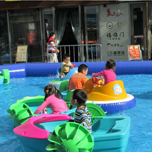 Factory Price Hand Kids Mini Paddle Boats for sale /kids paddle boat