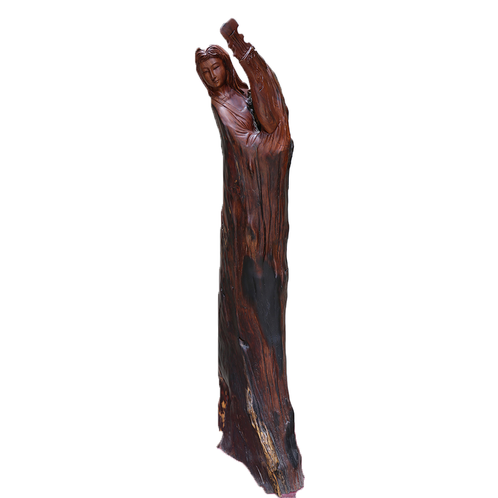 china factory hot product wooden arts crafts for collection wooden sculpture carving wood