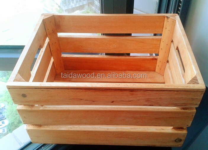 Vintage wood soda crates drinks crates buy decorative for Buy wooden fruit crates