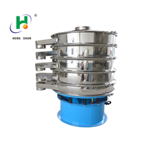 stainless steel standard vibrating screen/1200 starch vibrating sieve machine