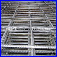 High quality and cheap Hot Dipped Galvanized, Ribbed, Cold Rolled Steel Reinforced Welded Mesh