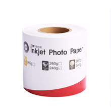 OEM Inkjet Glossy Roll Photo Paper For Noritsu Dry Printers