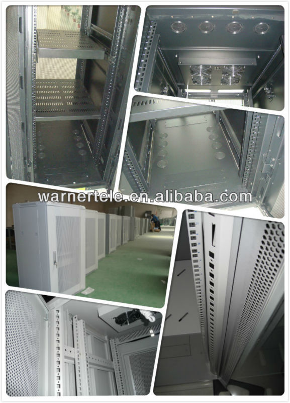 W-TEL flooring standing network rack server data cabinet