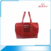 2016 Tote cardboard pet carriers wholesale customized breathe freely pet bag