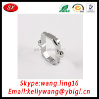 OEM Four Axies Machine CNC Aluminum Parts Computer Gong Making Special Shape Aluminum Part Aluminum Boat Parts