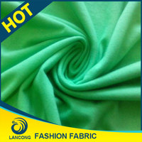 thick combed cotton single jersey fabric cotton printed dress material 100% cotton knitted hosiery fabric