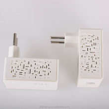New model 200m plc wifi homeplug powerline adapter