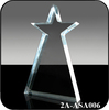 Wholesale Custom Glass Crystal Star Award Trophy Plaque