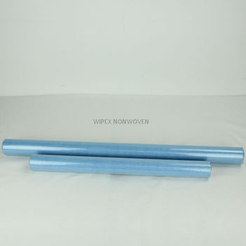 Factory-direct 55%cellulose 45%PET wash up nonwoven rolls
