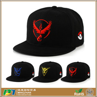 Unisex Snapback Adjustable Baseball Cap Fashion Embroidery Pokemon Hat