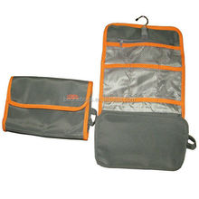 Hanging polyester foldable bag for travelling