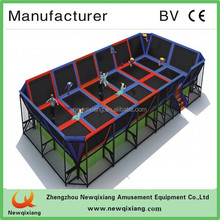 mini 55inches bungee trampoline bed,fitness equipment for kid and adult