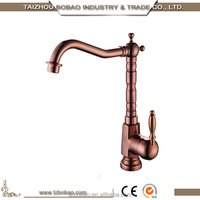 Top Quality European Style Antique Rose Gold Kitchen Faucet