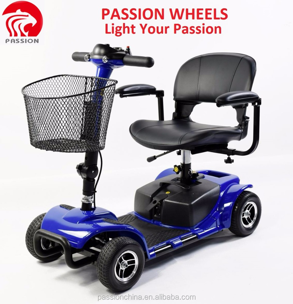 2017 Electric scooter 180W 4 wheel adult mobility scooter for adults,handicapped cars scooter