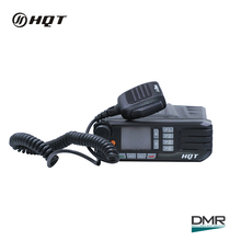 50 Watts Dual Band VHF UHF Land Digital DMR Mobile Radio
