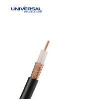 Plain Copper RG 11 PC1 75 ohm Coaxial Cable
