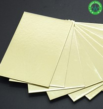 Laminate with Golden and Silver Paper 1.5MM Rectangle Cardboard