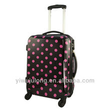 Newest Hardshell Four Wheel Rolling ABS/PC Trolley Luggage