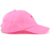Wholesale Design Soft Unstructured Pink Baseball Dad Hat, Custom Color Embroidery Rose Logo Dad Cap