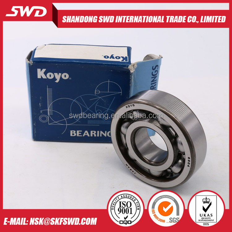 Koyo Brand 6204 Deep Groove Ball Bearing