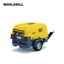 Atlas Copco XATS68/XAS78/XAS88/XAS48/XAS68 8 series of small type portable screw air compressor