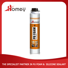 Homey 12 b2 super expandable fire proof polyurethane foam insulation spray