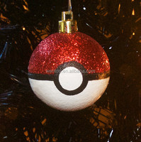 New Arrival Pokeball Christmas Ornament