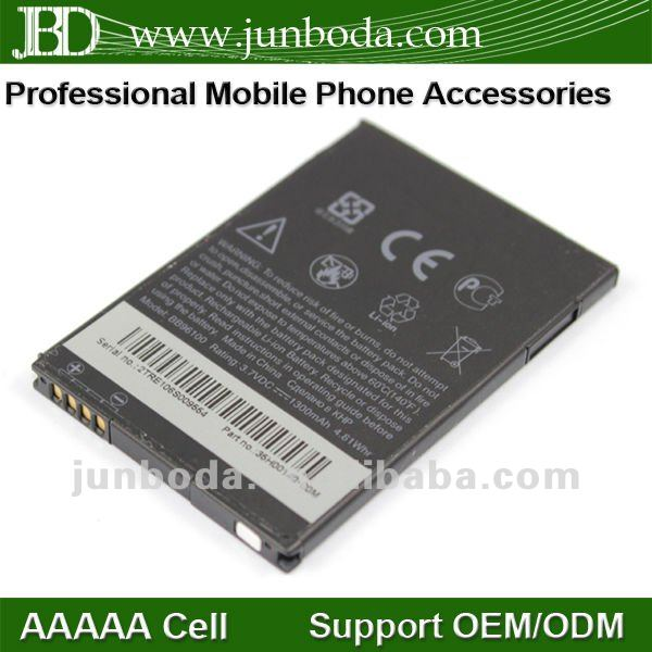 Mobile phone battery for htc bb96100 7 Mozart / desire z / A7272 /PC10100 / T8698